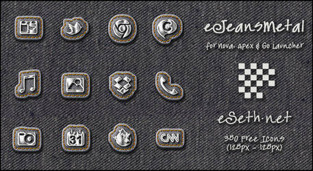 eJeansMetal Icons Android by gseth