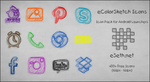 eColorSketch Icon Pack