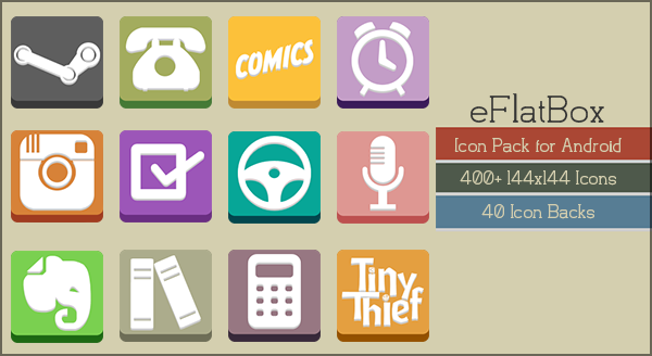 eFlatBox Icons by gseth