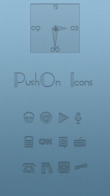 PushOn Icons for Android