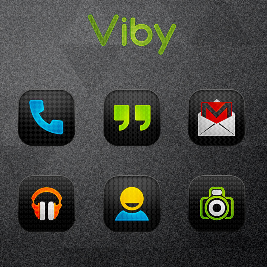 Viby - Icon Pack (Android) by gseth on DeviantArt