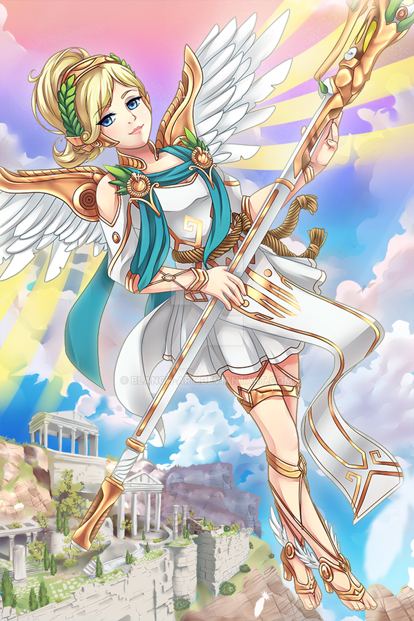 Winged Victory by Blanch-Art