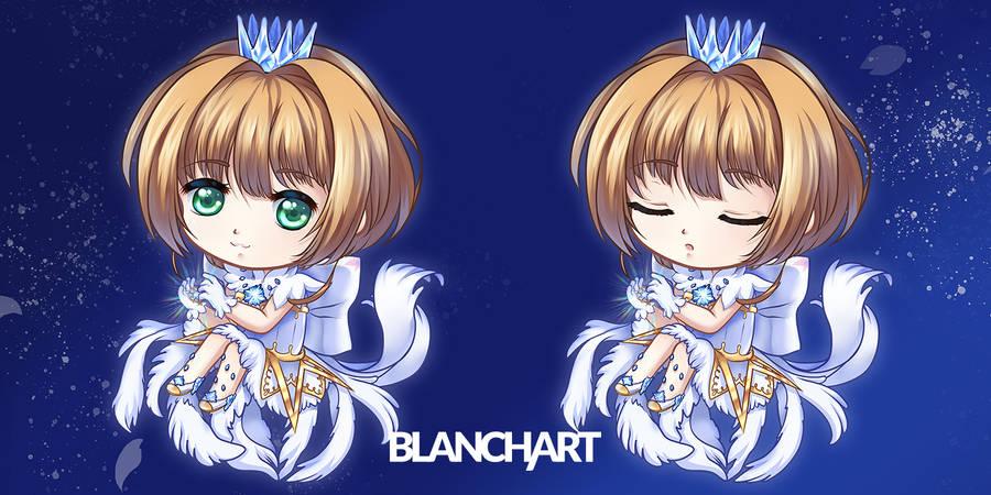 Sakura Clear Card by Blanch-Art