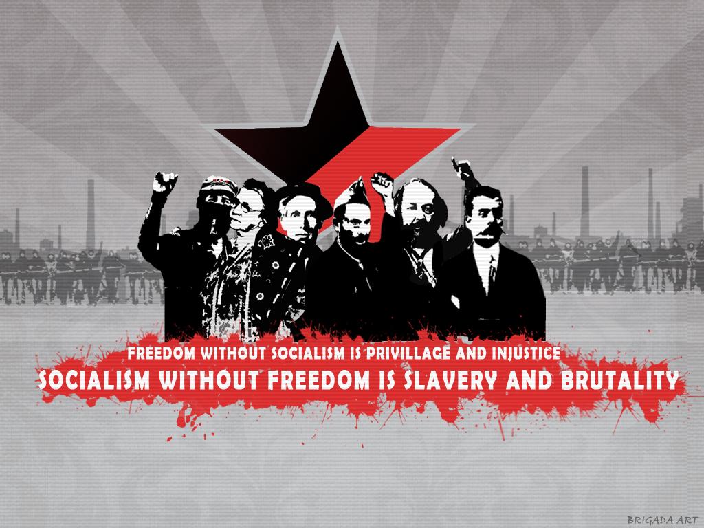 Anarchist Communist Poster by RedClassPride