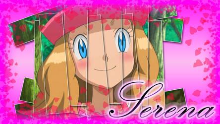 Pokemon XY Happy Serena