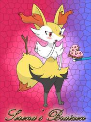 Pokemon XY Serena's Braixen