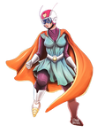 Fan Art Dragon Ball - Gran Saiyaman 2 (Videl)