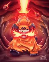 Mega Camerupt - It's Eruption Time! by DawnbreakerDESIGNS