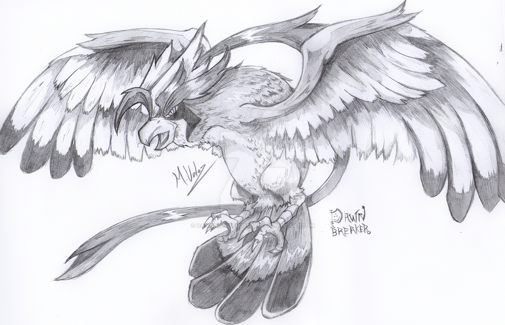 Mega-Pidgeot By DawnbreakerDESIGNS On DeviantArt