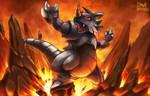 Rhydon used Earth Power! - KantoDex