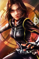 Daisy Johnson - Quake by DawnbreakerDESIGNS