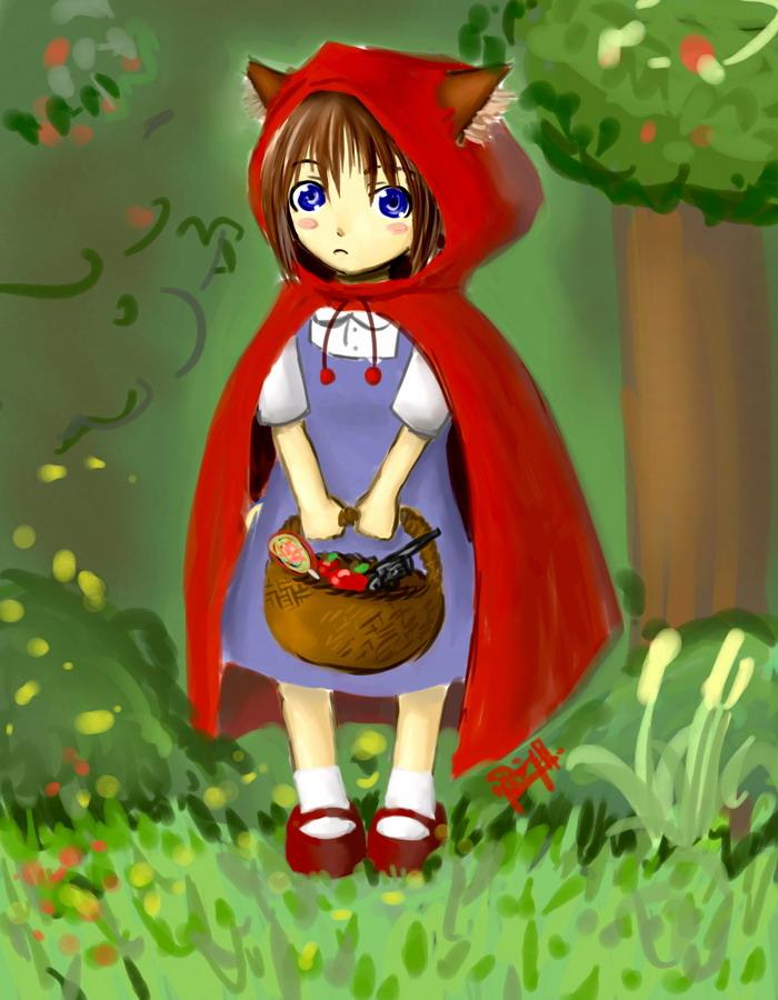 Little Red Riding Hood Cake And Lemonade
