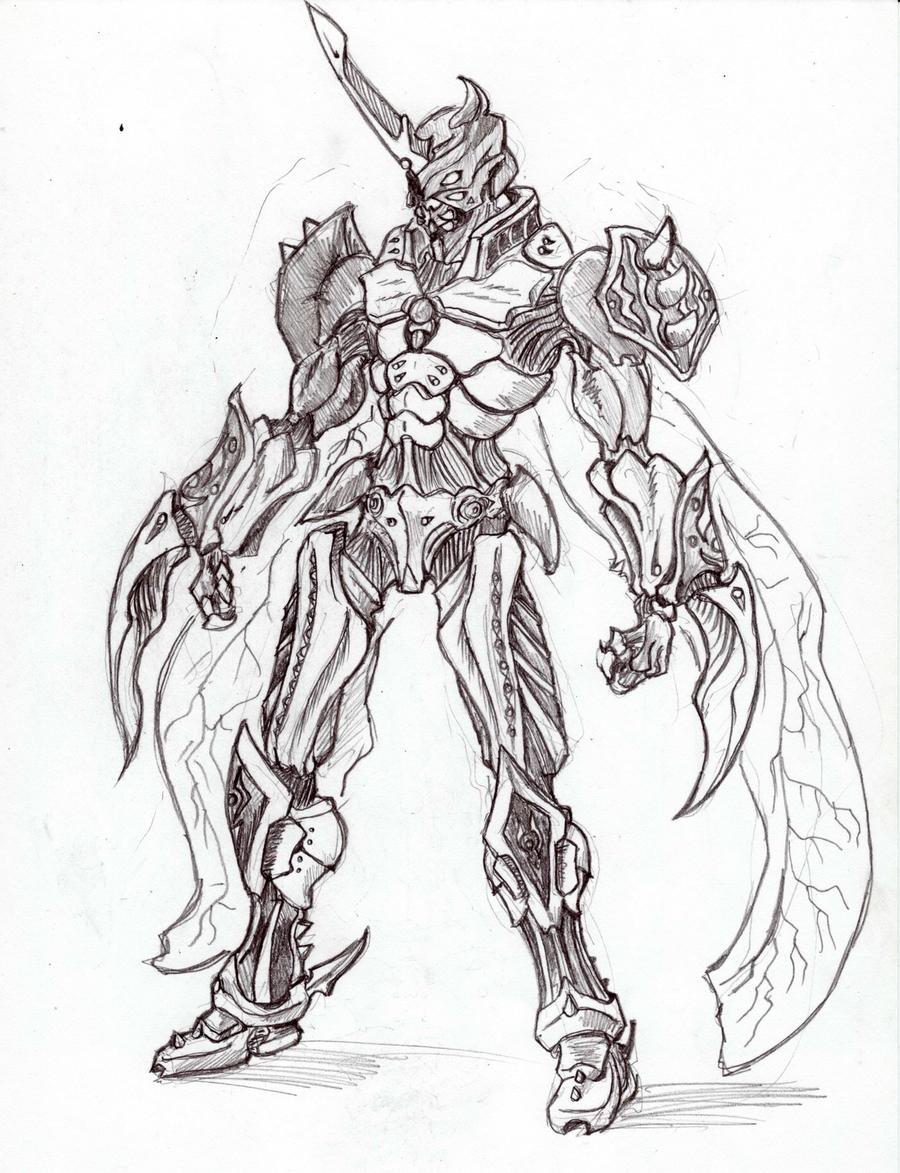 0168: Nerubian Assassin by Agito666 on DeviantArt