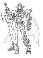 0313: Kamen Rider Orga by Agito666