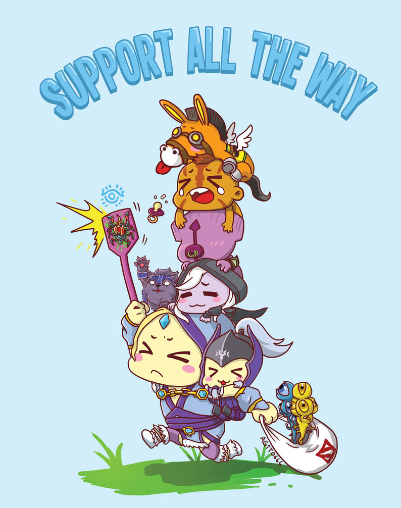 0502: Support All The Way by Agito666