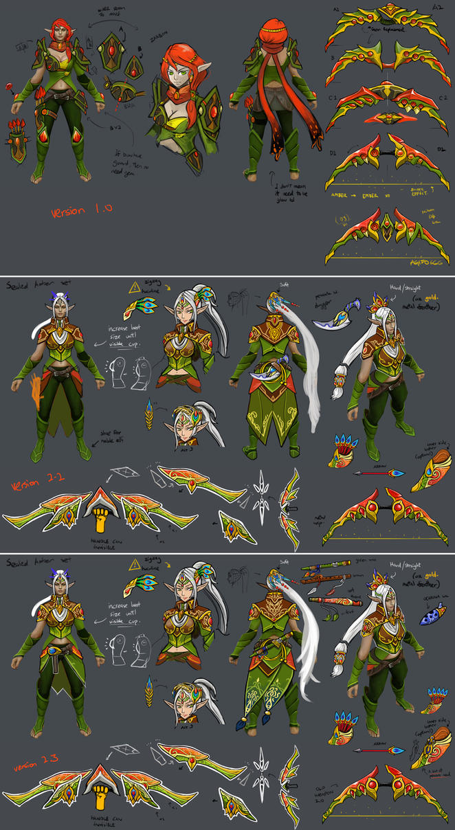 0557c: Forest Song set concept by Agito666