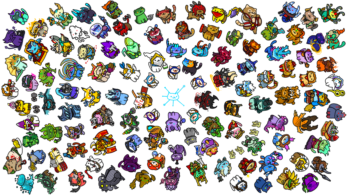 Doto Atsume wallpaper transparent version by Agito666