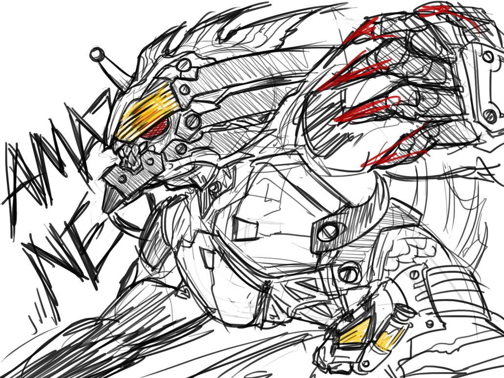 0580: Kamen Rider Amazon Neo by Agito666