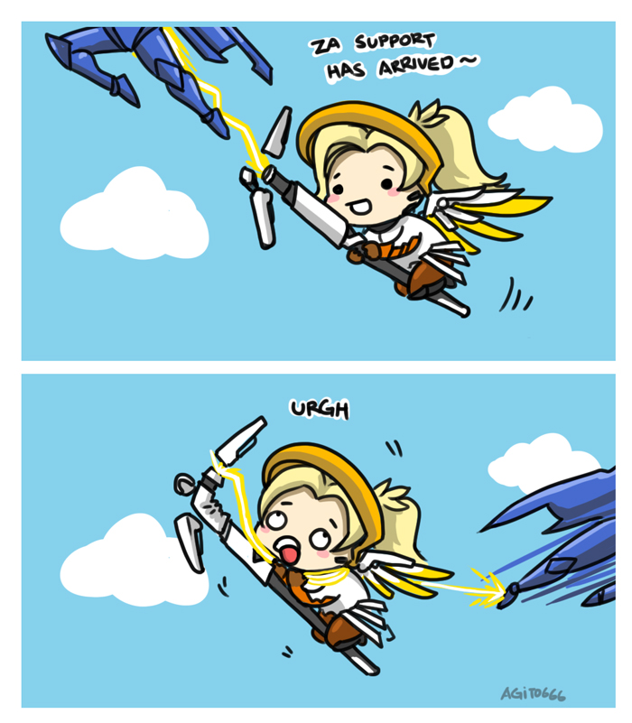 how to mercy by Agito666