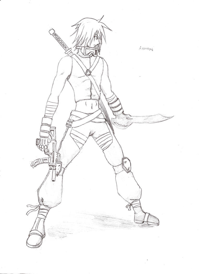 Male Assassin by Agito666 on DeviantArt