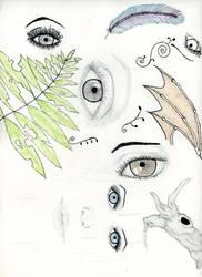 Doodle eyes