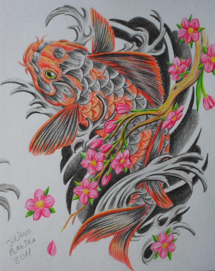 picstopin.comPin Carpa Koi 3 Dibujo De Pez Jpg Ajilbabcom Portal on