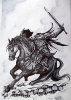 Headless Horseman by Juliano-Pereira