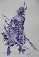Samurai by Juliano-Pereira