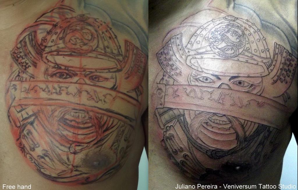 Samurai tattoo by Juliano-Pereira