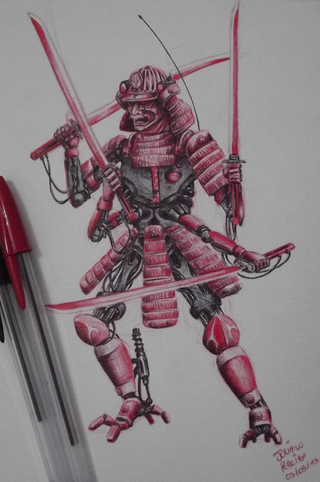 Cyber Samurai by Juliano-Pereira