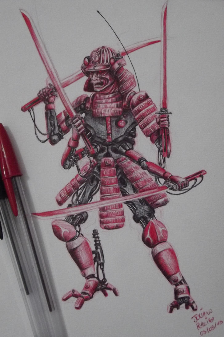 Cyber Samurai by Juliano-Pereira