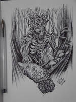 Dark Ent by Juliano-Pereira