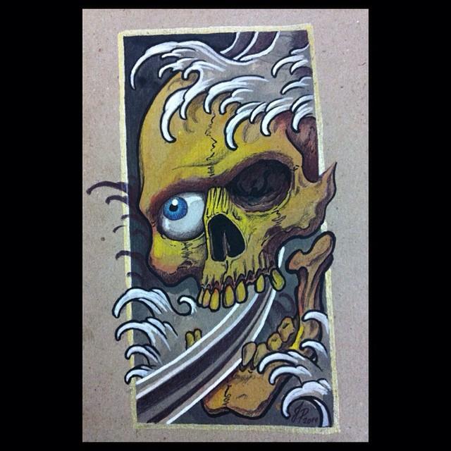 Skull by Juliano-Pereira
