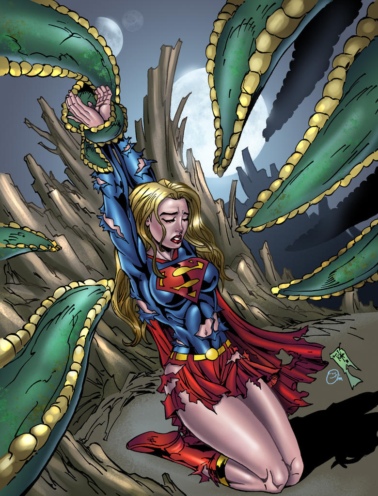 Tentacled 3: Supergirl by andrewr255