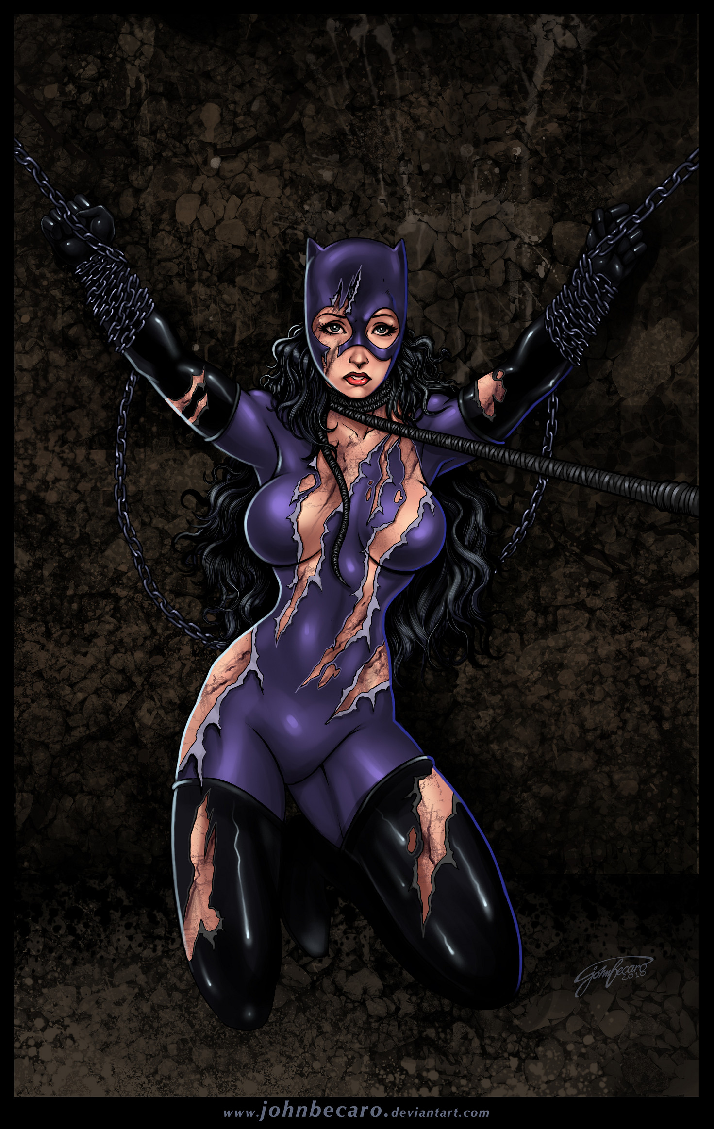 Beat And Bound 5: Catwoman by andrewr255