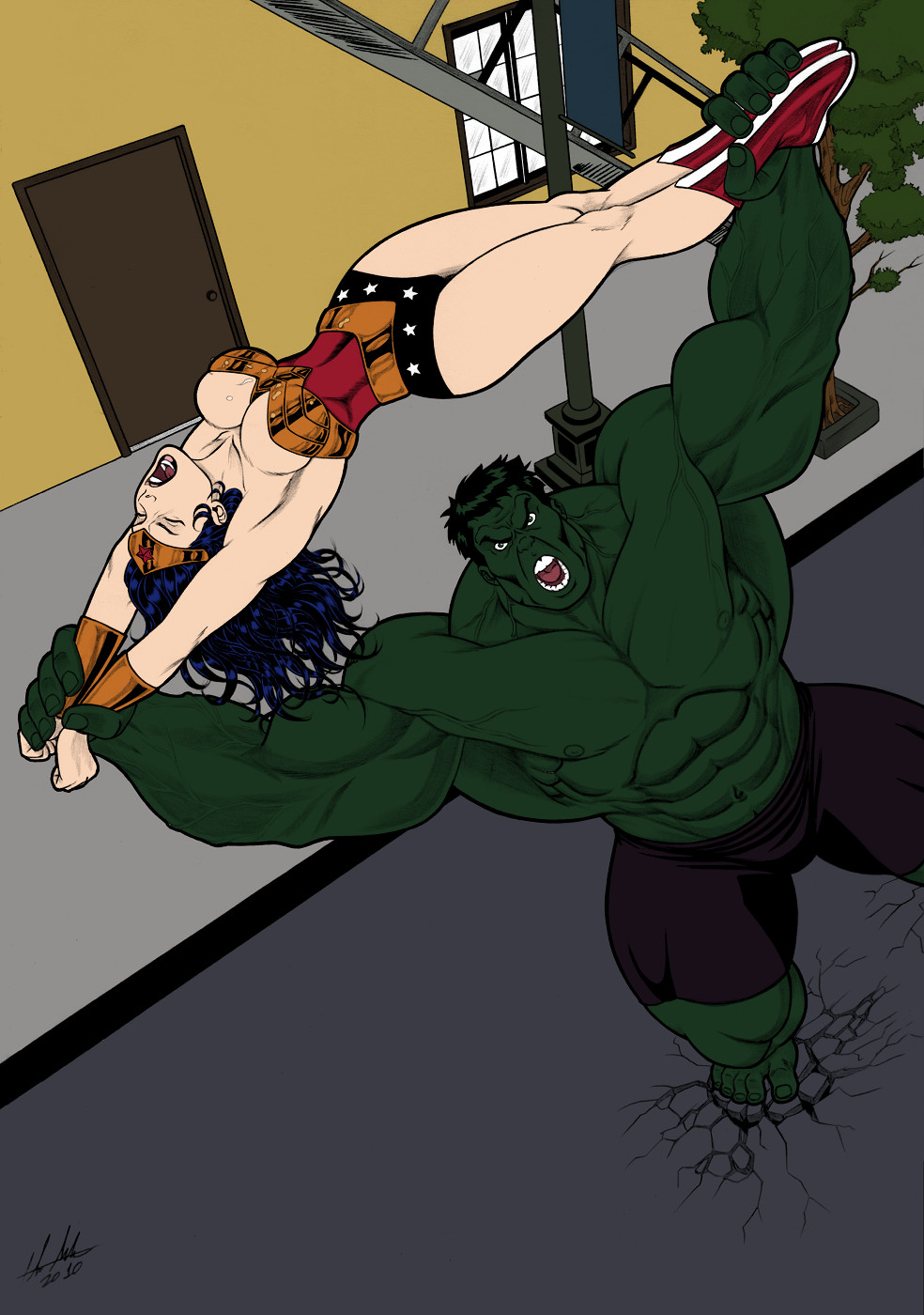 Hulk Sma...Er, Stretch by andrewr255