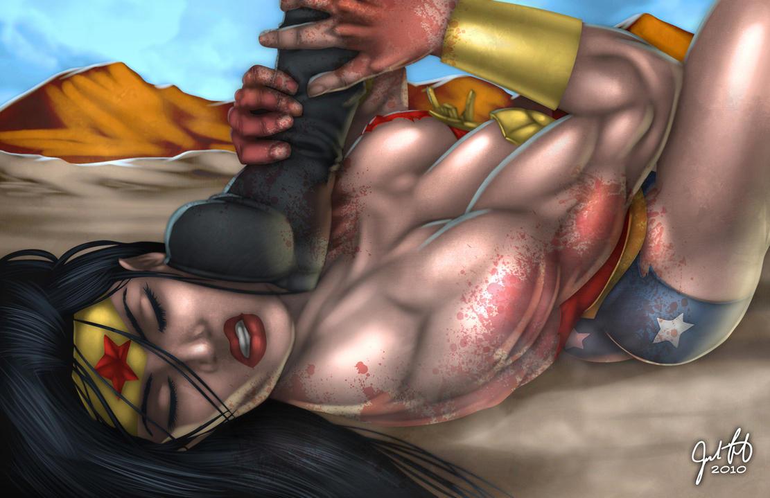 Wonder Woman Defeated Deviantart Defeated wonder woman by