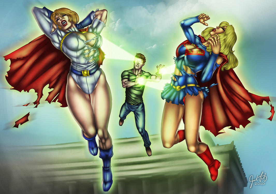 War on the Superheroines 7 by andrewr255