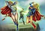 War on the Superheroines 7