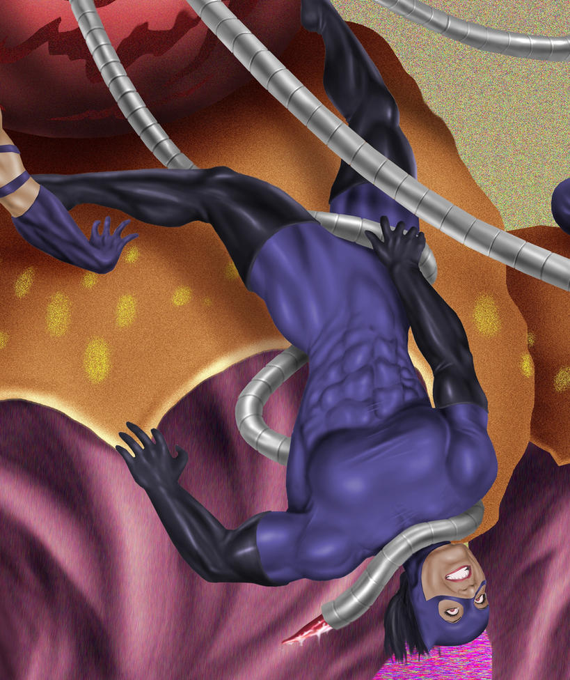 Catwoman tentacles hentai pics
