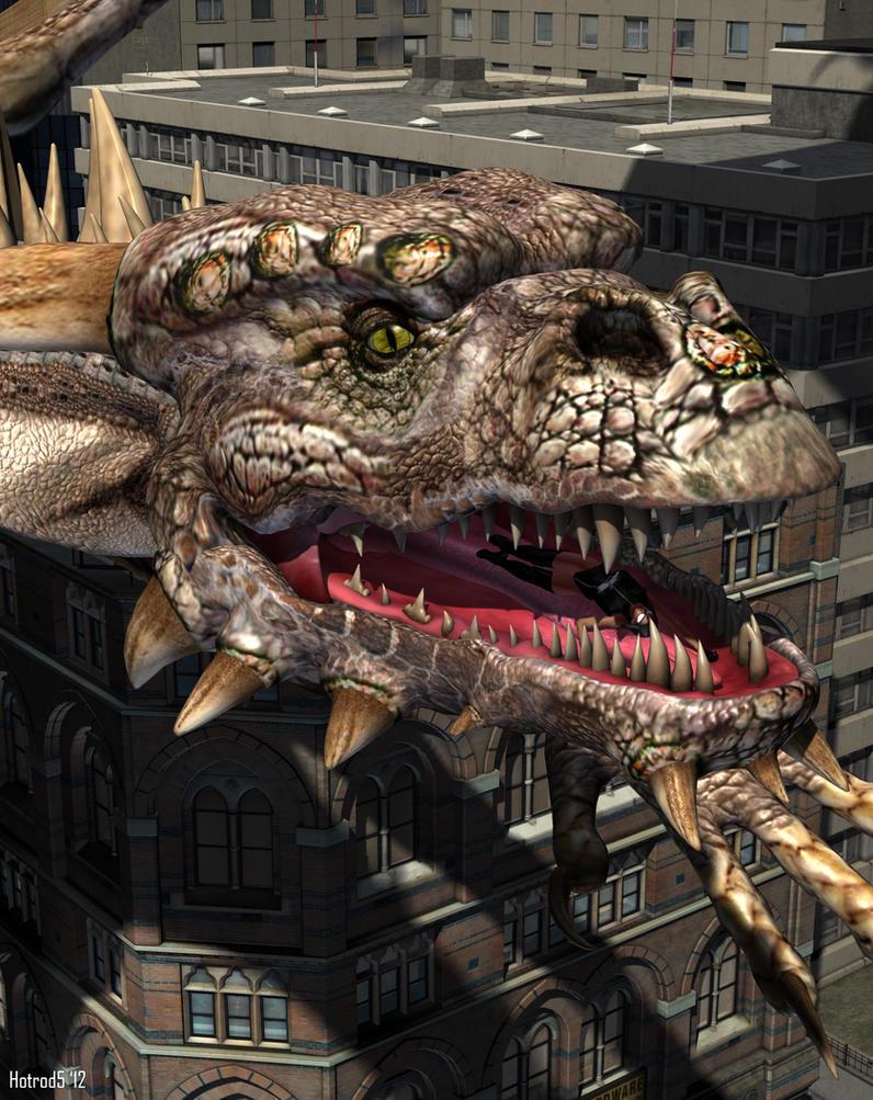 RIP AF Doom 22: Dragon by andrewr255