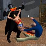 Wonder Woman vs. Zardor 6