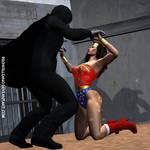 Wonder Woman vs. Zardor 8