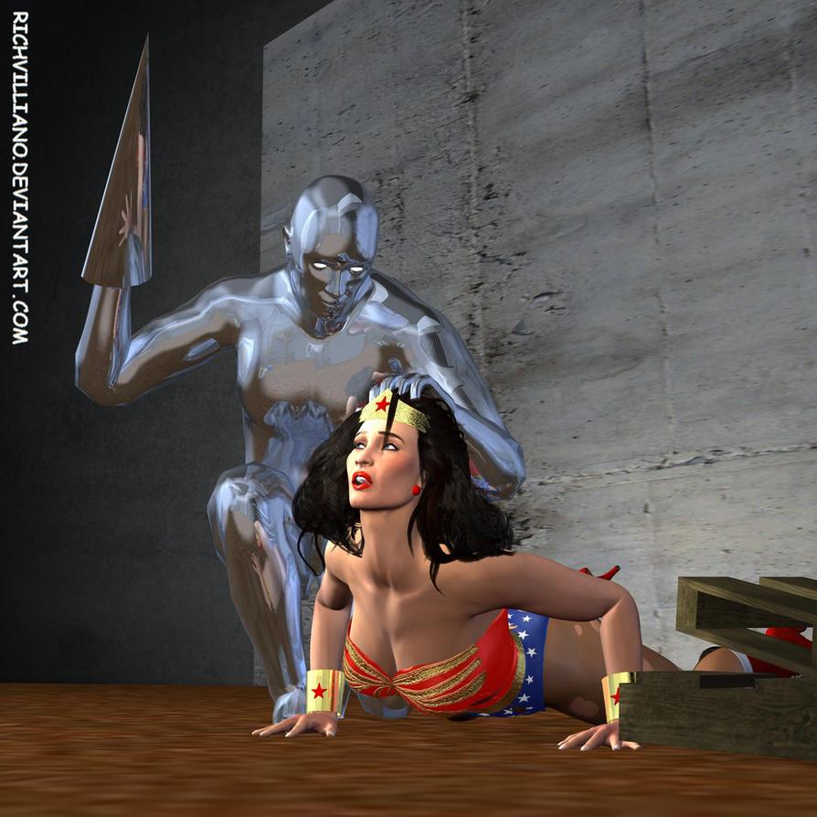 Wonder Woman Defeated Deviantart Wonder