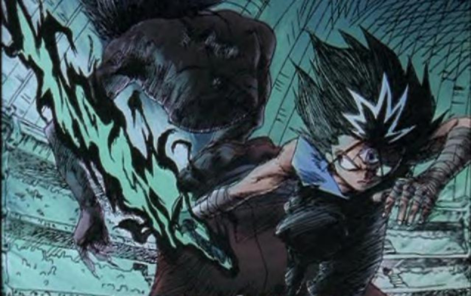Hiei's Sword of Dark Flames by HieiFireDemon
