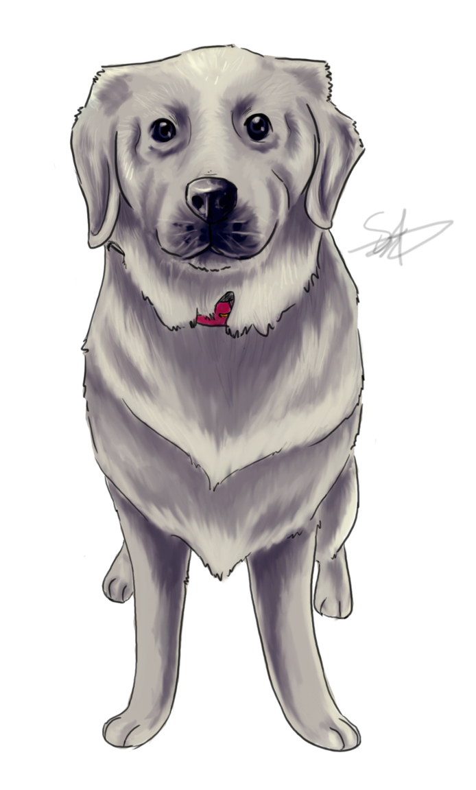 Casper the Friendly Pup by QwertyNerd