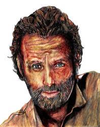 Rick Grimes TWD only pen