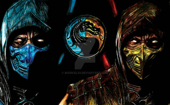 Mortal Kombat only pen