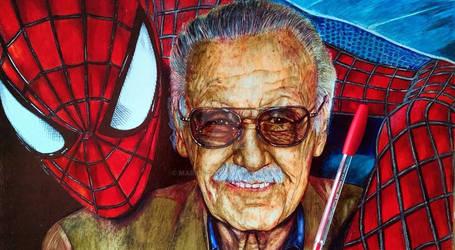 Stan Lee homenaje (inkpen)