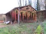 Autumn barn stock